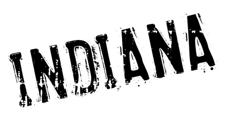indianapolis: Indiana stamp. Grunge design with dust scratches. Effects can be easily removed for a clean, crisp look. Color is easily changed. Illustration