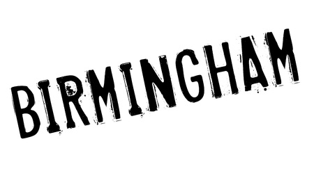 Birmingham stamp. Grunge design with dust scratches. Effects can be easily removed for a clean, crisp look. Color is easily changed. Illustration