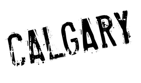 edmonton: Calgary stamp. Grunge design with dust scratches. Effects can be easily removed for a clean, crisp look. Color is easily changed.