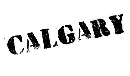 calgary: Calgary stamp. Grunge design with dust scratches. Effects can be easily removed for a clean, crisp look. Color is easily changed.