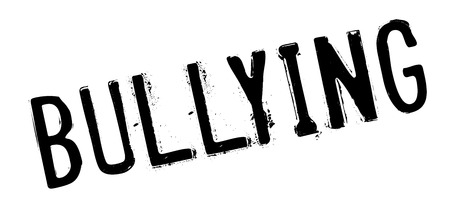 ruffian: Bullying rubber stamp. Grunge design with dust scratches. Effects can be easily removed for a clean, crisp look. Color is easily changed.