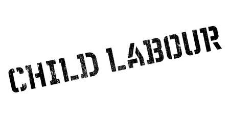 dangerous work: Child Labour rubber stamp. Grunge design with dust scratches. Effects can be easily removed for a clean, crisp look. Color is easily changed.