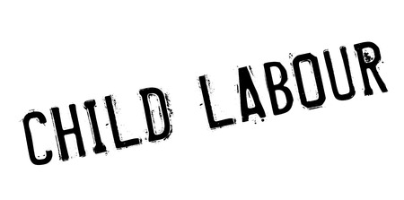 harmful: Child Labour rubber stamp. Grunge design with dust scratches. Effects can be easily removed for a clean, crisp look. Color is easily changed.