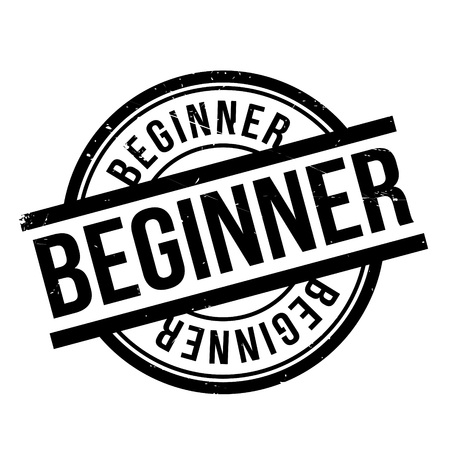 newcomer: Beginner rubber stamp. Grunge design with dust scratches. Effects can be easily removed for a clean, crisp look. Color is easily changed.