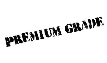 grade: Premium Grade rubber stamp.