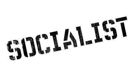 marxism: Socialist rubber stamp. Grunge design with dust scratches. Effects can be easily removed for a clean, crisp look. Color is easily changed.