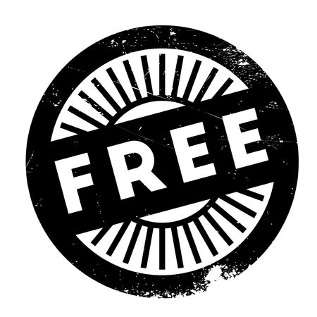 freebie: Free stamp. Grunge design with dust scratches. Effects can be easily removed for a clean, crisp look. Color is easily changed.