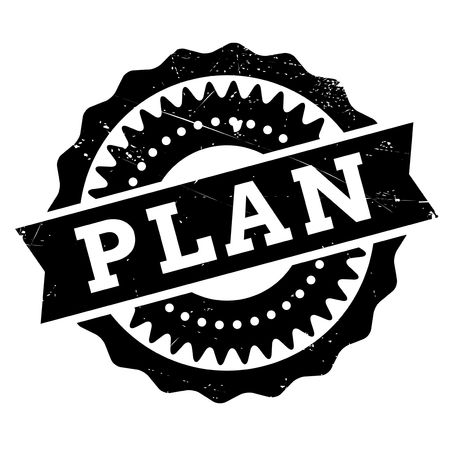 bargain for: Plan stamp. Grunge design with dust scratches. Effects can be easily removed for a clean, crisp look. Color is easily changed.