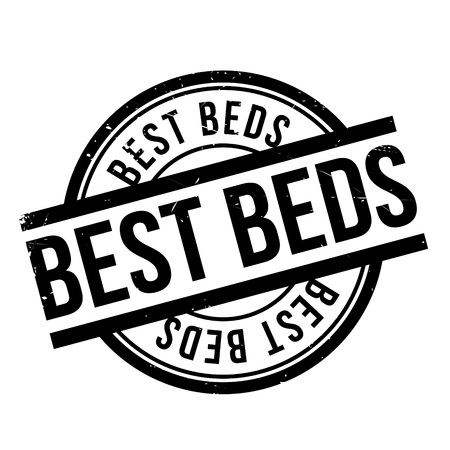 unrivaled: Best Beds rubber stamp. Grunge design with dust scratches. Effects can be easily removed for a clean, crisp look. Color is easily changed.