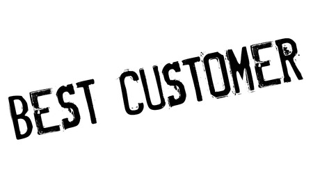 apt: Best Customer rubber stamp. Grunge design with dust scratches. Effects can be easily removed for a clean, crisp look. Color is easily changed.