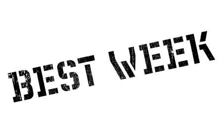 healthier: Best Week rubber stamp. Grunge design with dust scratches. Effects can be easily removed for a clean, crisp look. Color is easily changed.