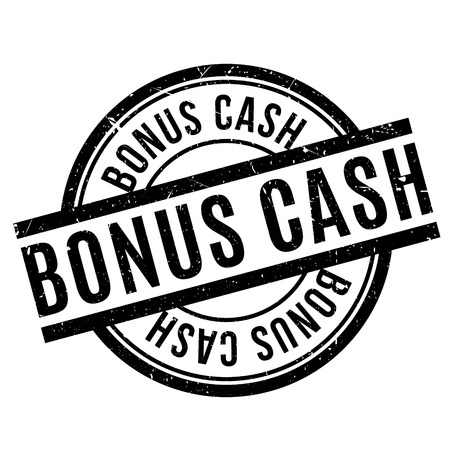 bonus: Bonus Cash rubber stamp. Grunge design with dust scratches. Effects can be easily removed for a clean, crisp look. Color is easily changed.