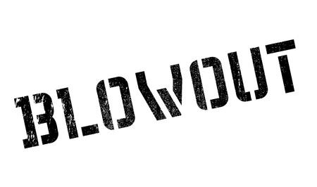 Sello de goma de reventón. Diseño de Grunge con los rasguños polvo. Los efectos se pueden quitar fácilmente para una apariencia limpia y nítida. En color se cambia fácilmente.