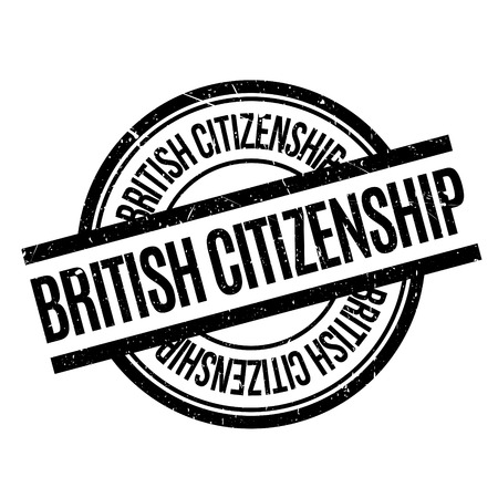 liberation: British Citizenship rubber stamp. Grunge design with dust scratches. Effects can be easily removed for a clean, crisp look. Color is easily changed.
