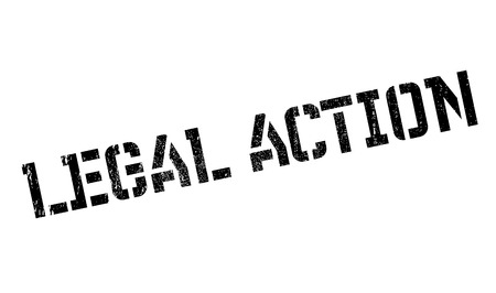 prosecute: Legal Action rubber stamp. Grunge design with dust scratches. Effects can be easily removed for a clean, crisp look. Color is easily changed.