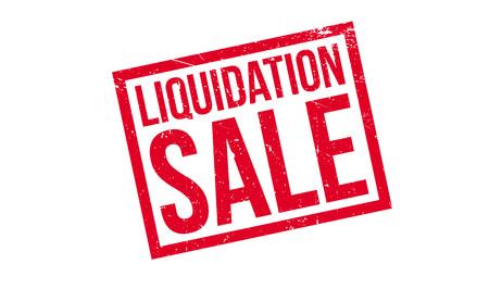 Liquidation Sale rubber stamp