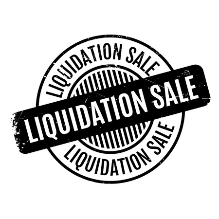 omission: Liquidation Sale rubber stamp. Grunge design with dust scratches. Effects can be easily removed for a clean, crisp look. Color is easily changed.