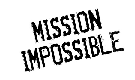 against all odds: Mission Impossible rubber stamp. Grunge design with dust scratches. Effects can be easily removed for a clean, crisp look. Color is easily changed.
