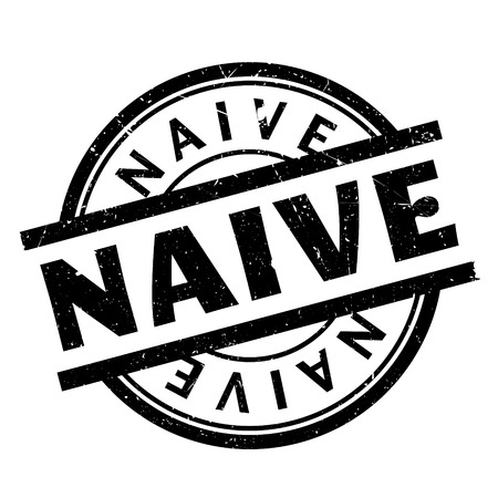 Naive rubber stamp. Grunge design with dust scratches. Effects can be easily removed for a clean, crisp look. Color is easily changed.