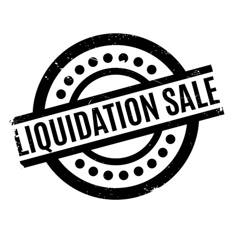 eradication: Liquidation Sale rubber stamp. Grunge design with dust scratches. Effects can be easily removed for a clean, crisp look. Color is easily changed.