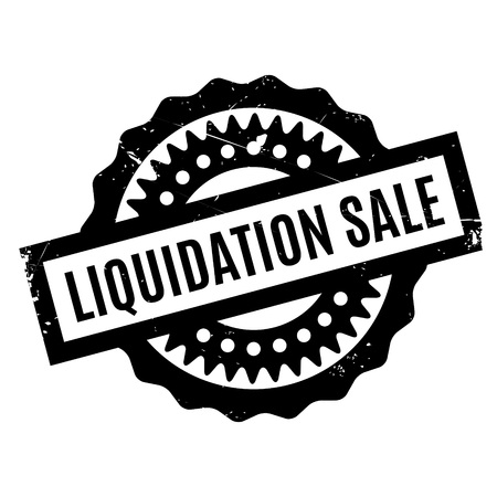 expulsion: Liquidation Sale rubber stamp. Grunge design with dust scratches. Effects can be easily removed for a clean, crisp look. Color is easily changed.