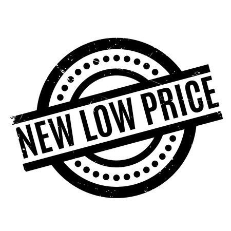 lowering: New Low Price rubber stamp. Grunge design with dust scratches. Effects can be easily removed for a clean, crisp look. Color is easily changed.