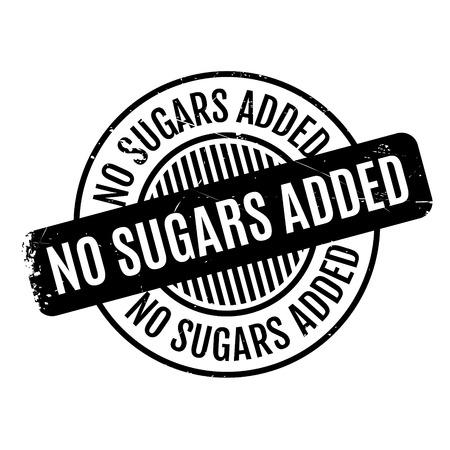 Pas Sugars tampon Ajouté. conception grunge avec des rayures de poussière. Les effets peuvent être facilement enlevés pour un aspect propre et croustillant. La couleur est facilement changée. Vecteurs