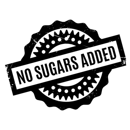 raisin: No Sugars Added rubber stamp. Grunge design with dust scratches. Effects can be easily removed for a clean, crisp look. Color is easily changed.