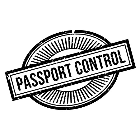 clout: Passport Control rubber stamp. Grunge design with dust scratches. Effects can be easily removed for a clean, crisp look. Color is easily changed.