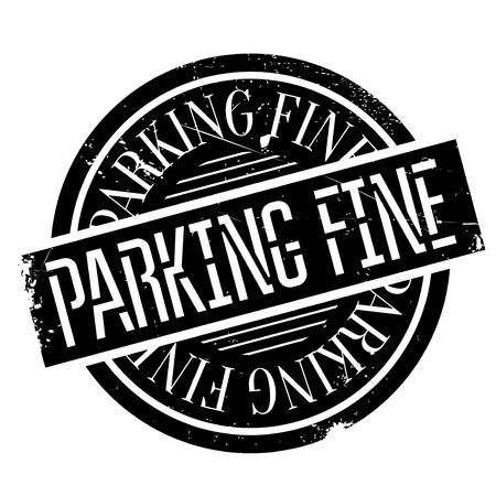 駐車場高級ゴム印。ほこり傷とグランジ デザイン。効果は、クリーンでさわやかな一見のために簡単に削除できます。色が簡単に変更されます。  イラスト・ベクター素材