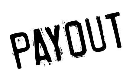 insure: Payout rubber stamp. Grunge design with dust scratches. Effects can be easily removed for a clean, crisp look. Color is easily changed.