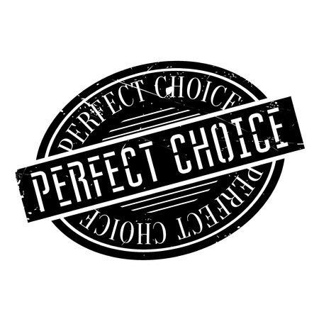 Perfect Choice rubber stamp. Grunge design with dust scratches. Effects can be easily removed for a clean, crisp look. Color is easily changed.