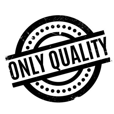 Solo timbro di qualità. Design grunge con graffi di polvere. Gli effetti possono essere facilmente rimossi per un look pulito e nitido. Il colore è facilmente modificabile