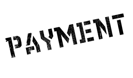 payable: Payment rubber stamp. Grunge design with dust scratches. Effects can be easily removed for a clean, crisp look. Color is easily changed.