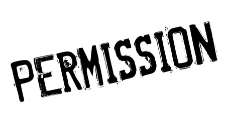 indulgence: Permission rubber stamp. Grunge design with dust scratches. Effects can be easily removed for a clean, crisp look. Color is easily changed.