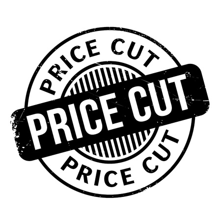 Price Cut rubber stamp. Grunge design with dust scratches. Effects can be easily removed for a clean, crisp look. Color is easily changed.
