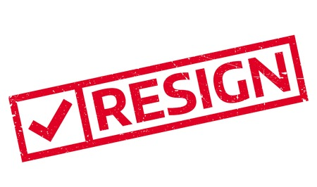 waive: Resign rubber stamp. Grunge design with dust scratches. Effects can be easily removed for a clean, crisp look. Color is easily changed.