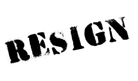 oneself: Resign rubber stamp. Grunge design with dust scratches. Effects can be easily removed for a clean, crisp look. Color is easily changed.