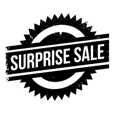 consternation: Surprise Sale rubber stamp. Grunge design with dust scratches. Effects can be easily removed for a clean, crisp look. Color is easily changed.