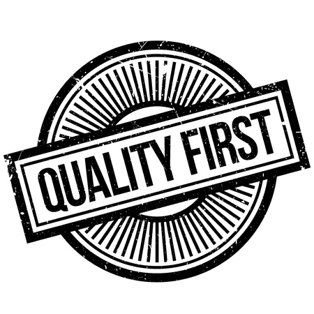 Quality First rubber stamp. Grunge design with dust scratches. Effects can be easily removed for a clean, crisp look. Color is easily changed.