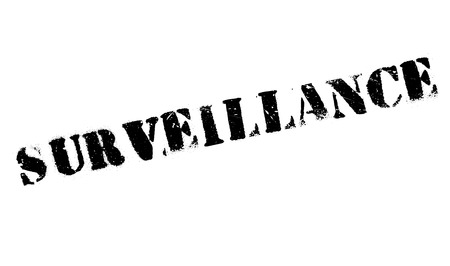 tagging: Surveillance rubber stamp. Grunge design with dust scratches. Effects can be easily removed for a clean, crisp look. Color is easily changed.