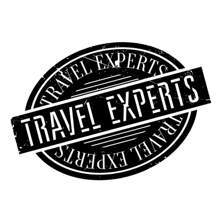 whiz: Travel Experts rubber stamp. Grunge design with dust scratches. Effects can be easily removed for a clean, crisp look. Color is easily changed.