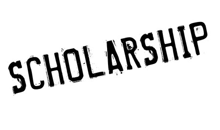 discernment: Scholarship rubber stamp. Grunge design with dust scratches. Effects can be easily removed for a clean, crisp look. Color is easily changed.