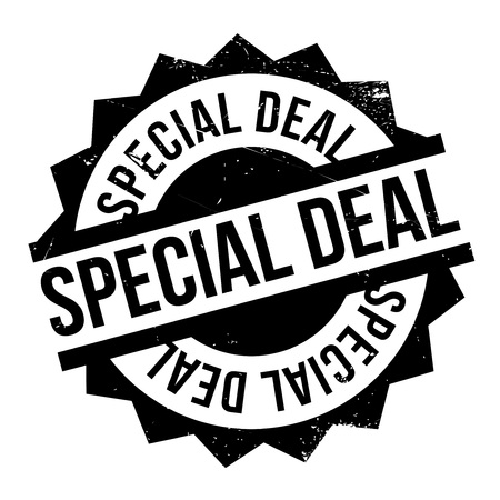 cheaper: Special Deal rubber stamp. Grunge design with dust scratches. Effects can be easily removed for a clean, crisp look. Color is easily changed.