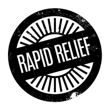 relieve: Rapid Relief rubber stamp. Grunge design with dust scratches. Effects can be easily removed for a clean, crisp look. Color is easily changed.