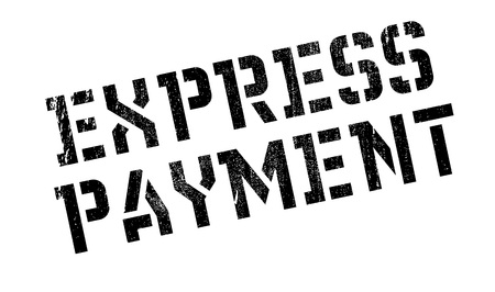 recompense: Express Payment rubber stamp. Grunge design with dust scratches. Effects can be easily removed for a clean, crisp look. Color is easily changed.