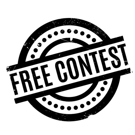audition: Free Contest rubber stamp. Grunge design with dust scratches. Effects can be easily removed for a clean, crisp look. Color is easily changed.
