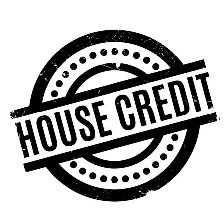 hospedaje: Casa sello de goma de crédito. Diseño de Grunge con los rasguños polvo. Los efectos se pueden quitar fácilmente para una apariencia limpia y nítida. En color se cambia fácilmente.