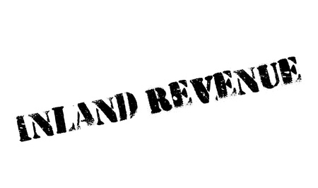 provincial: Inland Revenue rubber stamp. Grunge design with dust scratches. Effects can be easily removed for a clean, crisp look. Color is easily changed. Illustration