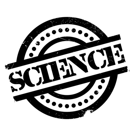 biophysics: Science rubber stamp. Grunge design with dust scratches. Effects can be easily removed for a clean, crisp look. Color is easily changed.